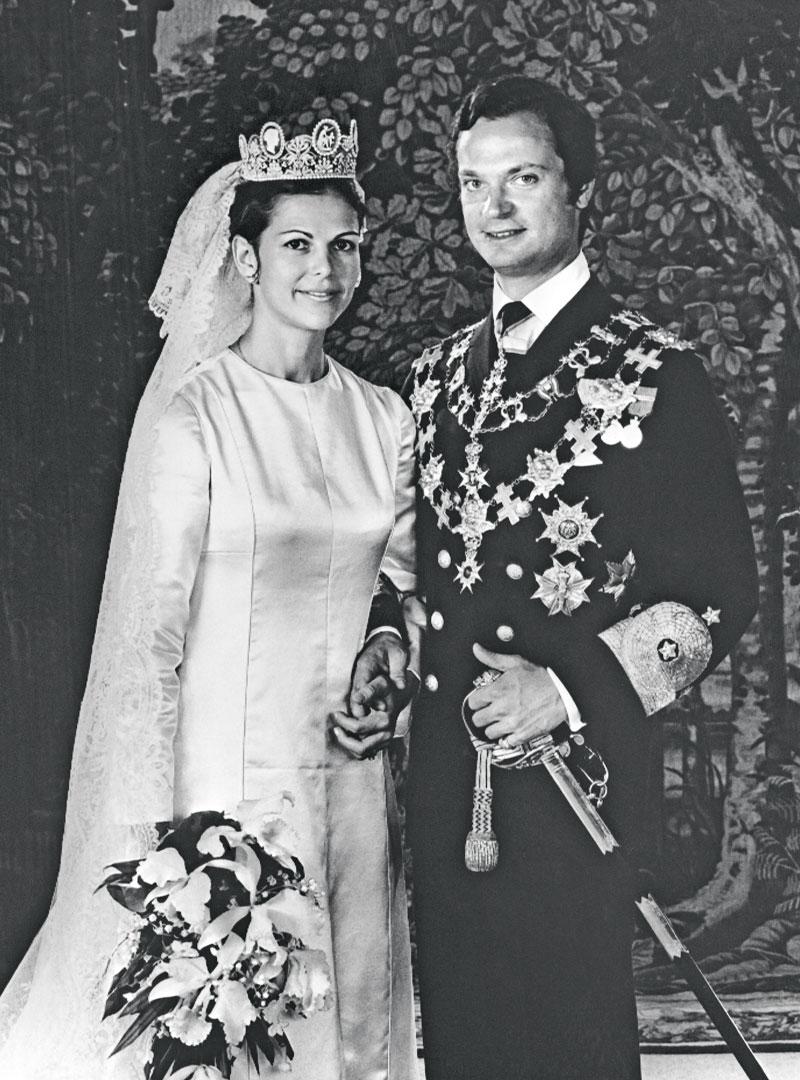 Kaarle XVI Kustaa ja Silvia