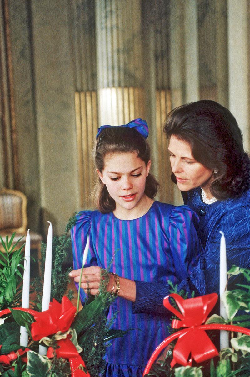 Silvia ja 13-vuotias Victoria