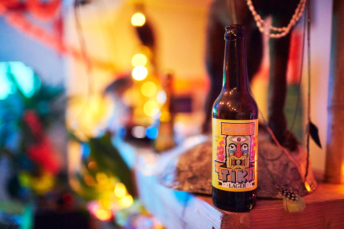 Visuaalisuus on tärkeää pienpanimoille, jotta oma tuote erottuu lukuisista muista. Brewcatsin olutpulloetikettejä suunnittelee muun muassa Lauran puoliso, mentalisti Jose Ahonen.