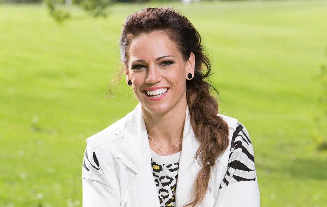 Eva Wahlström on raskaana. Kuvassa Eva vuonna 2014.