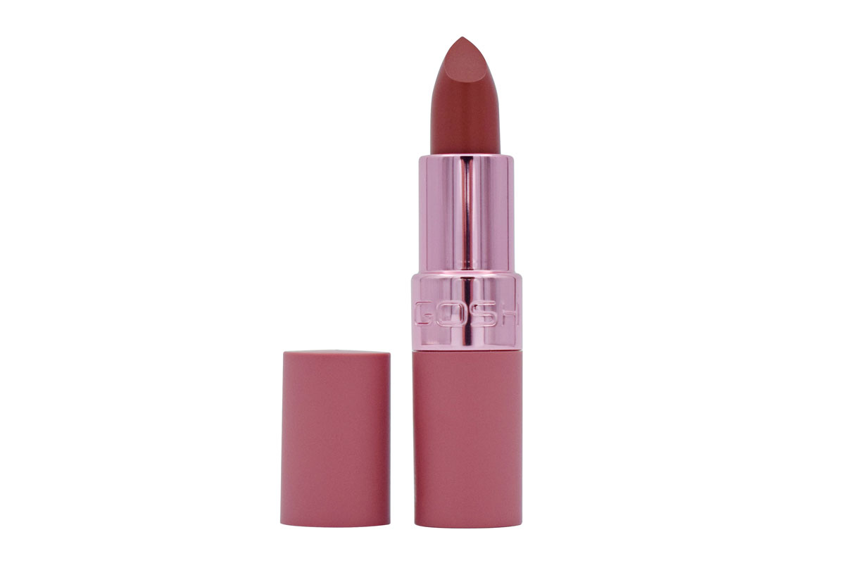 Gosh Luxury Rose Lips -huulipunaa voi kerrostaa, 14,50 e. Kaupoissa lokakuussa.