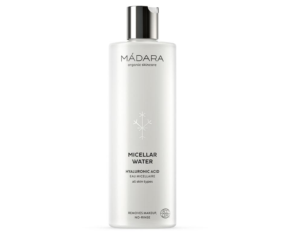 Mádara Micellar Water -misellivesi kosteuttaa ihoa tehokkaasti. Luonnonkosmetiikkaa, 100ml 17e.