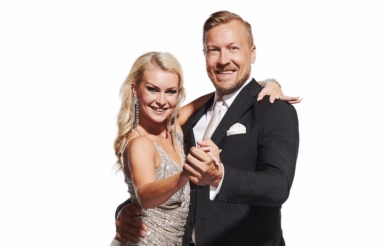 Niklas Hagman ja Kia Lehmuskoski kilpailevat Tanssii tähtien kanssa -kisassa.