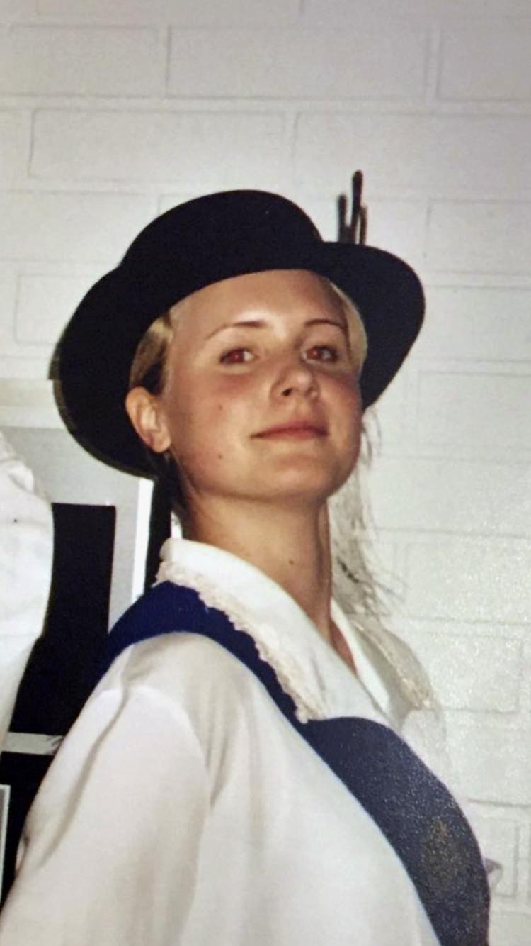 Liina Länsiluoto 16-vuotiaana.