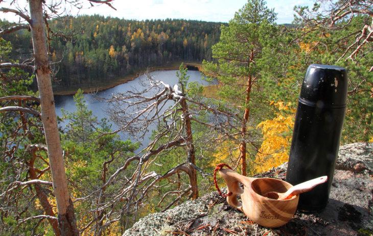 Repoveden kansallispuistossa on upeat maisemat ja myös helpot
