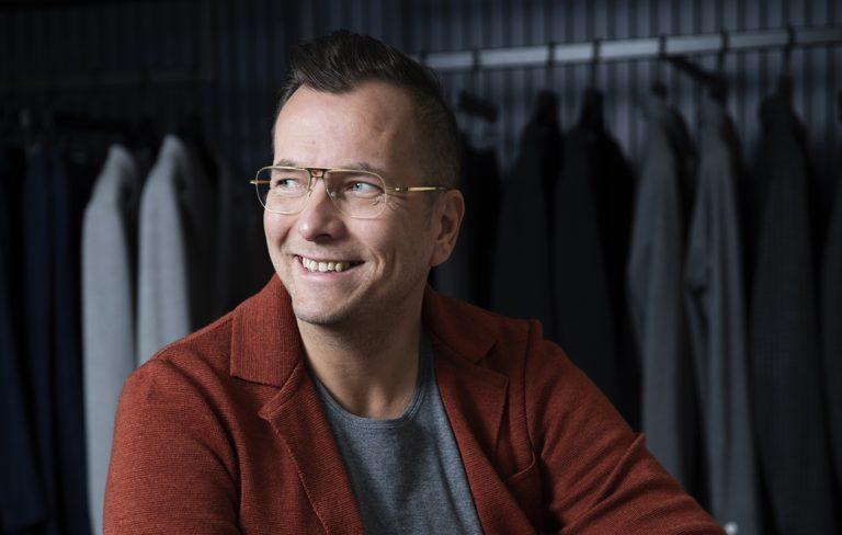 Antti Laitinen on Frennin pääsuunnittelija.