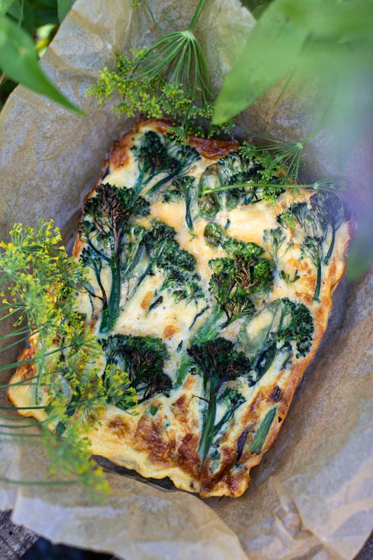 broccolinifrittata