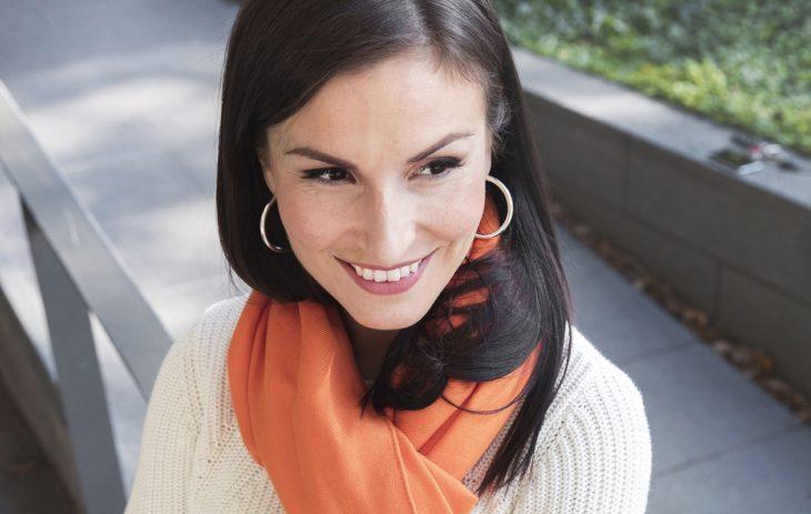 Maria Lund sanoo olevansa sitoutuvaa sorttia. – Rakastan rakastaa.