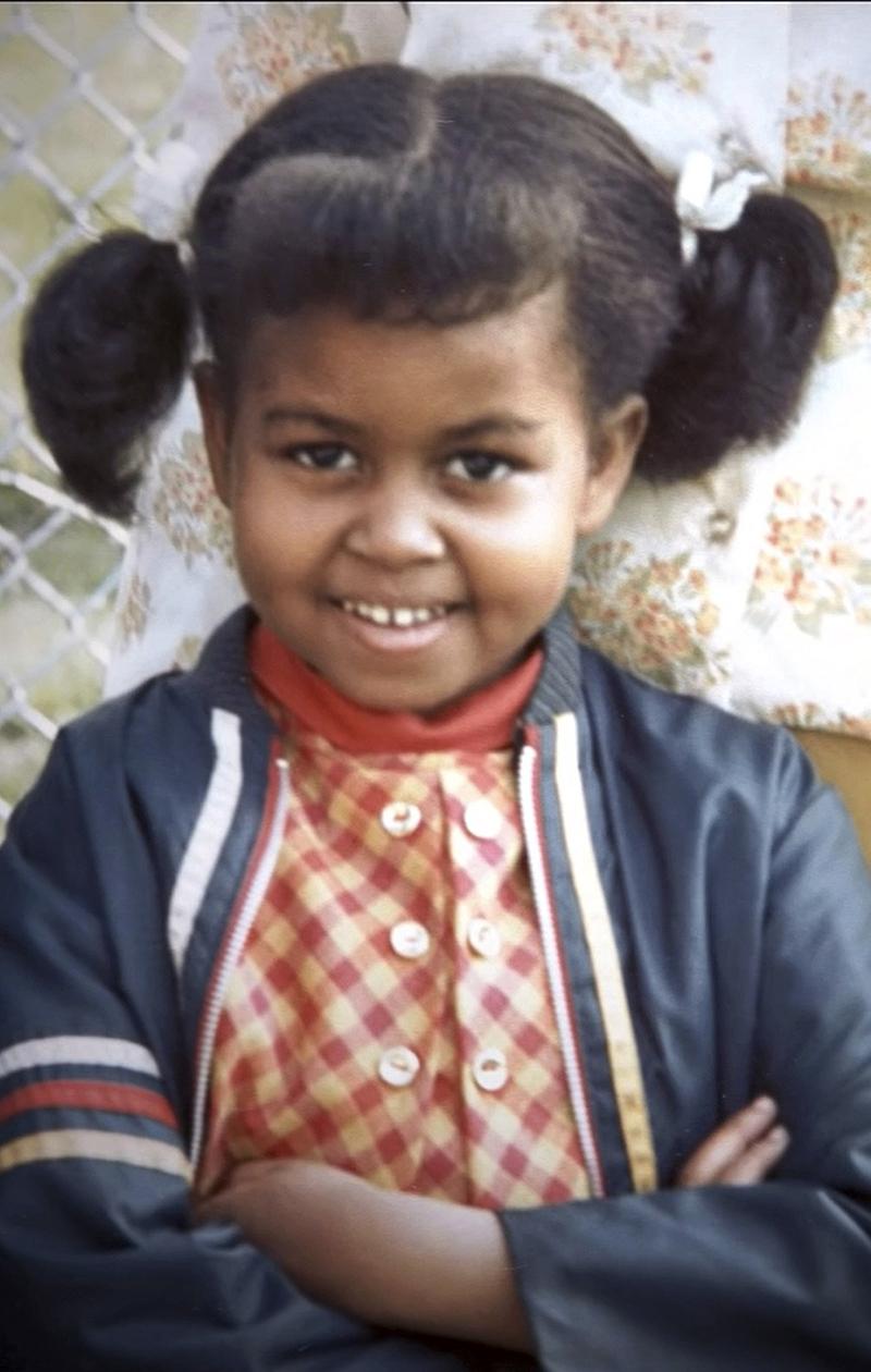 Michelle Obama lapsena