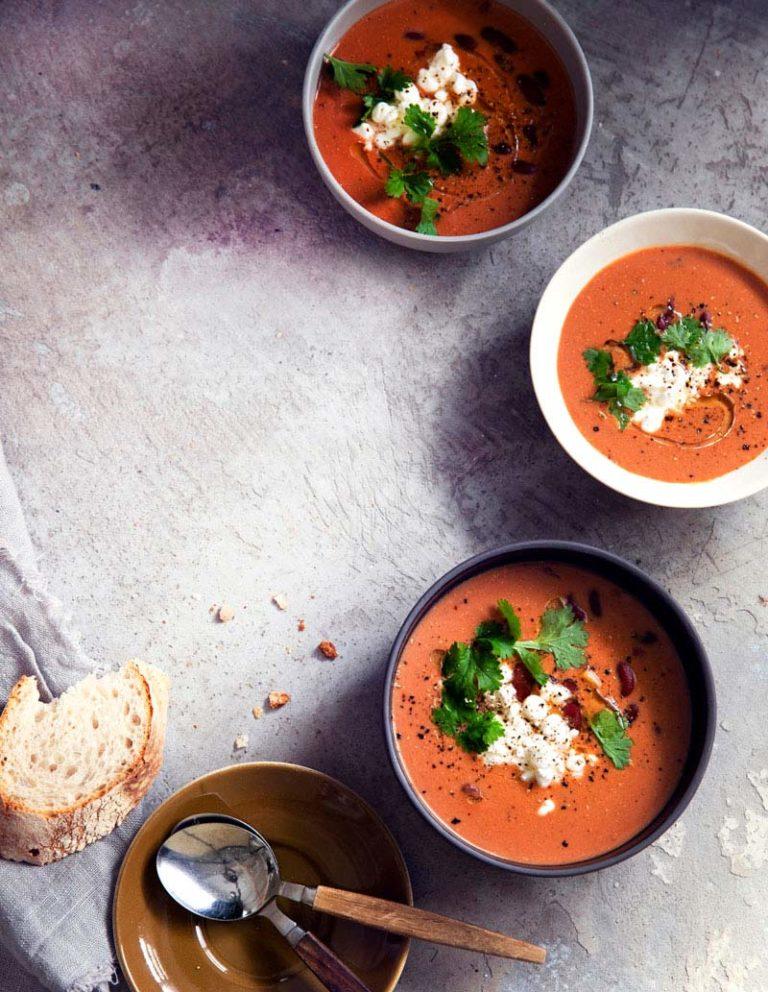 tomaattinen kookos-papukeitto