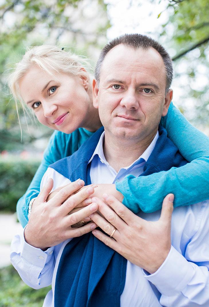 Vera Vala ja Corrado Bortolitti.
