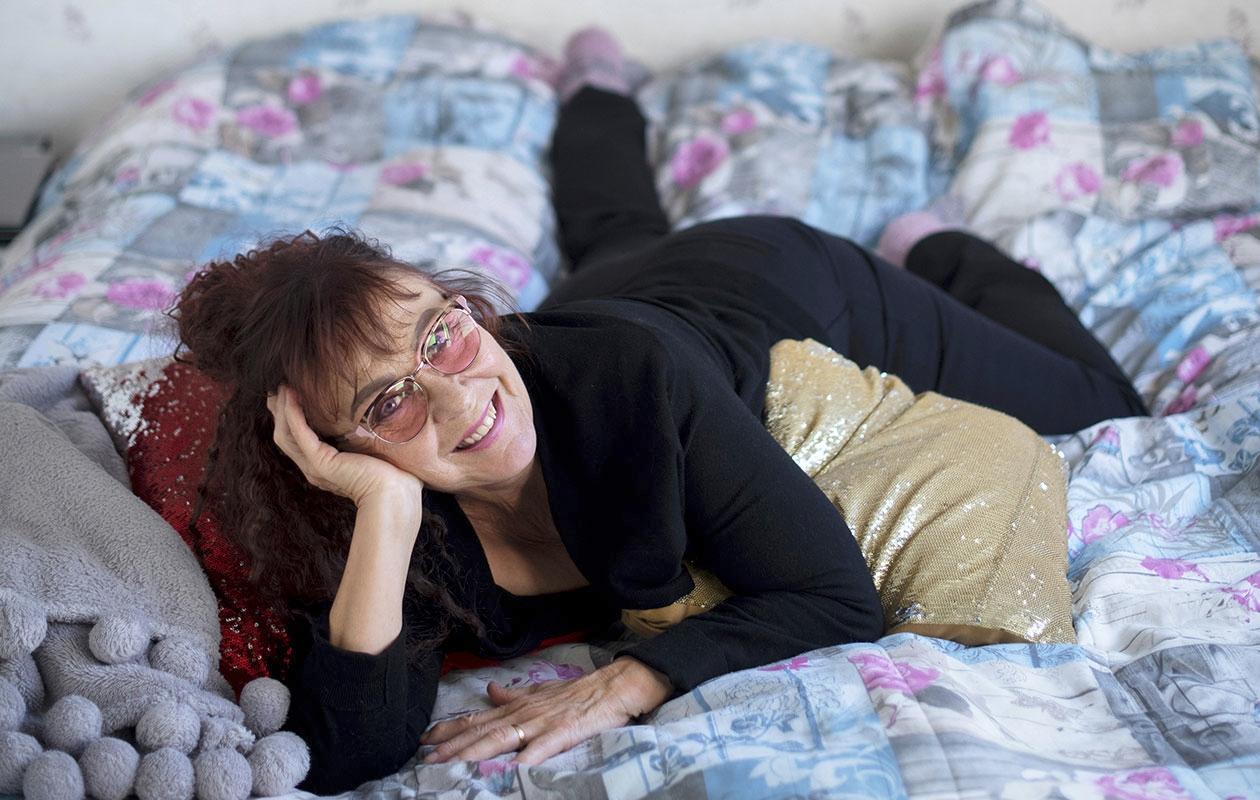 Ihanaa herätä aamulla virkeänä! Omassa makuuhuoneessa Ulla Pihl saa nukkua rauhassa aamuun asti.