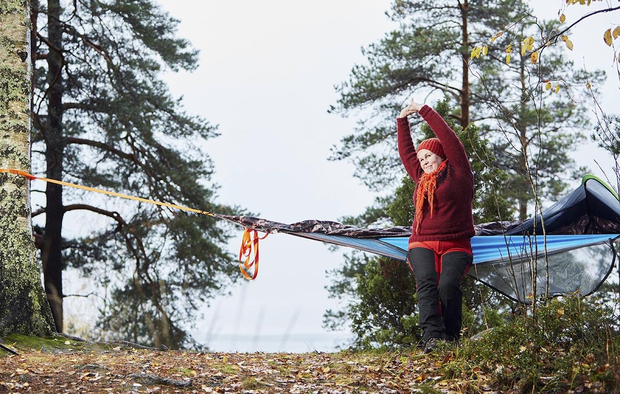 Aiemmin Satu Ukkonen heräsi aamukolmelta miettimään työasioita, enää ei. Ulkona uni on syvää.