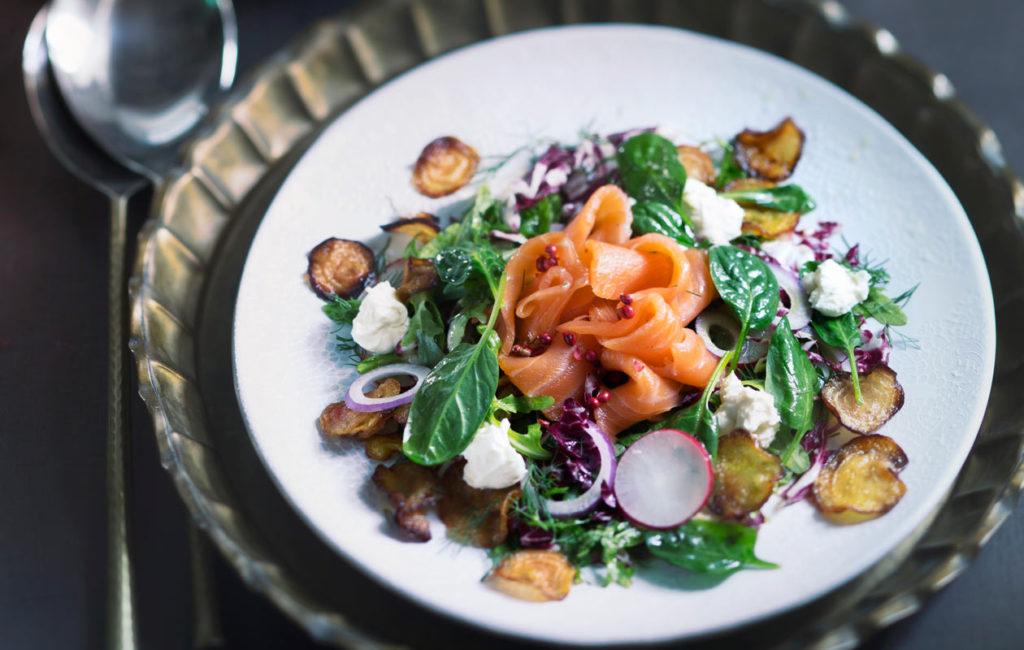 jouluinen salaatti