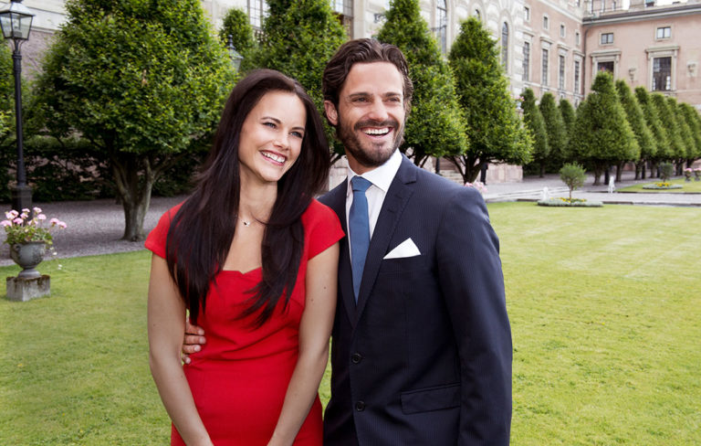 Kuvassa prinssi Carl Philip ja prinsessa Sofia.