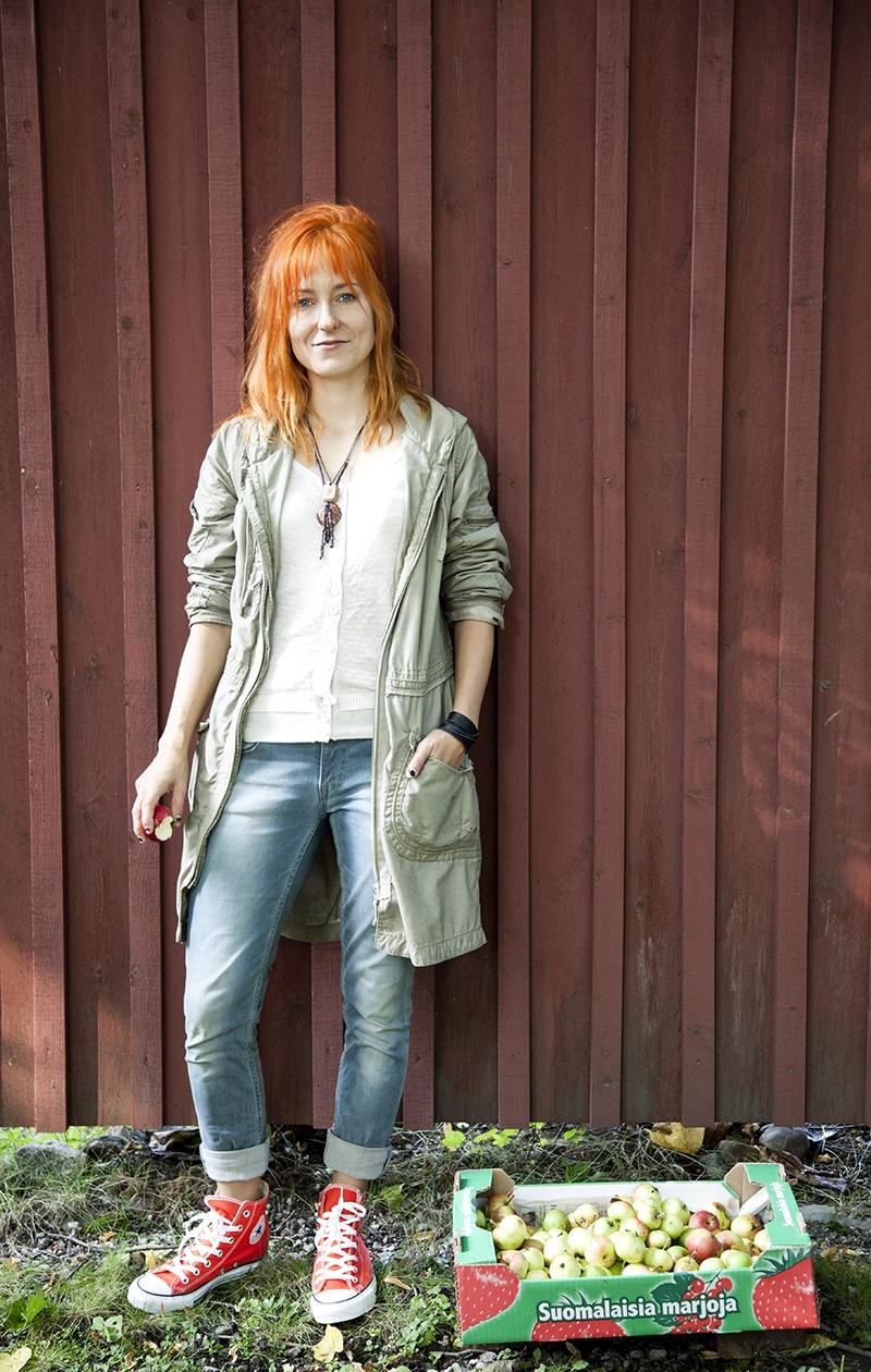 Mariska syksyllä 2012.