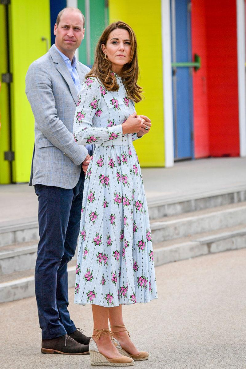 Englannin prinssi William ja herttuatar Catherine