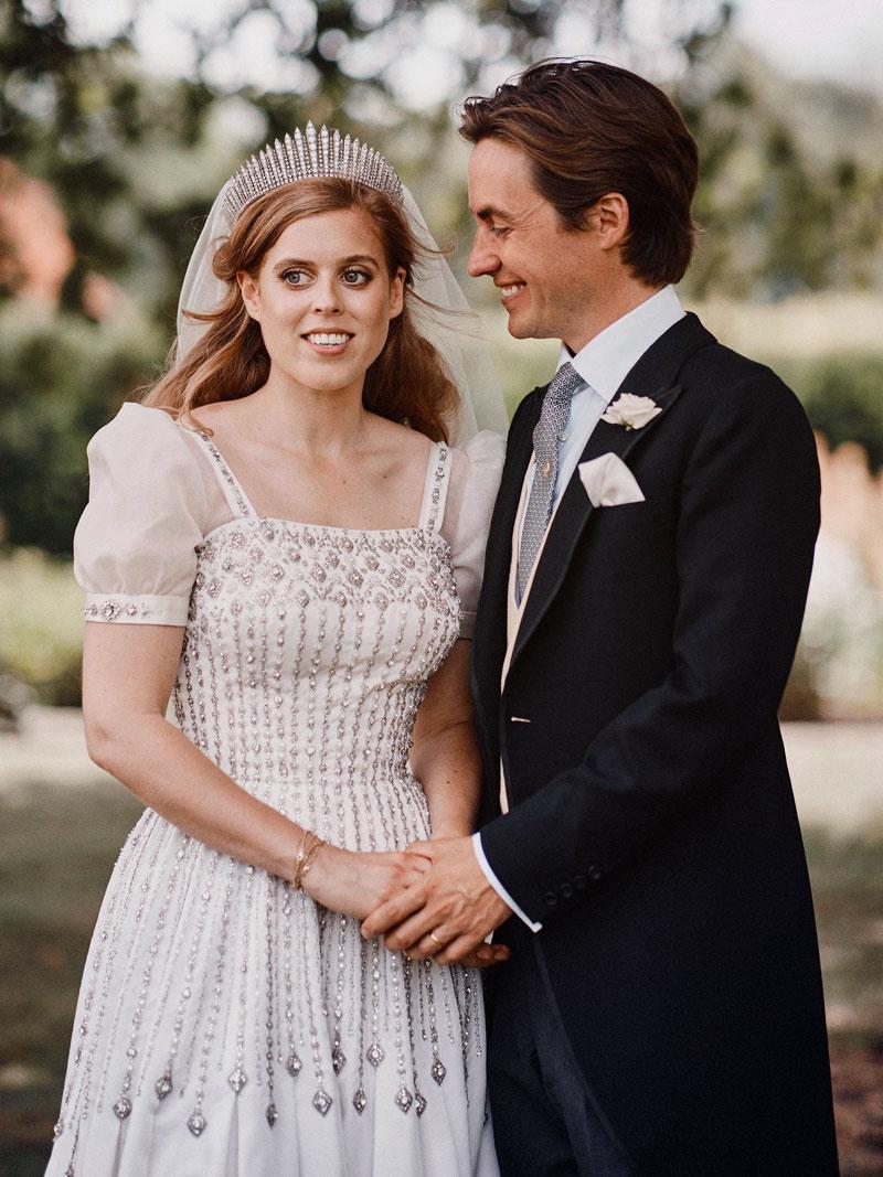 Englannin prinsessa Beatrice ja Edoardo Mapelli Mozzi