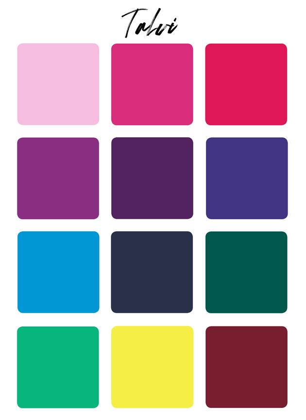 värianalyysi talvi värit