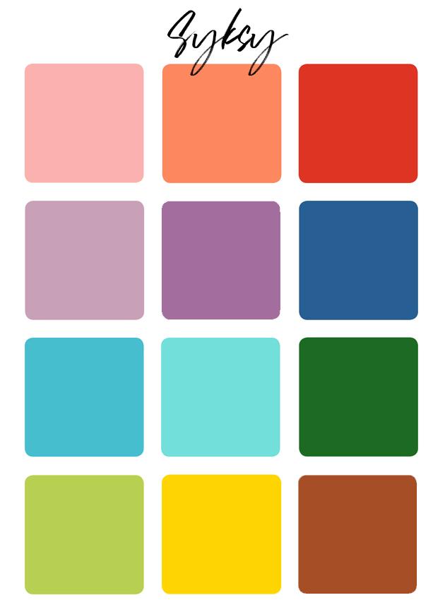 värianalyysi syksy värit