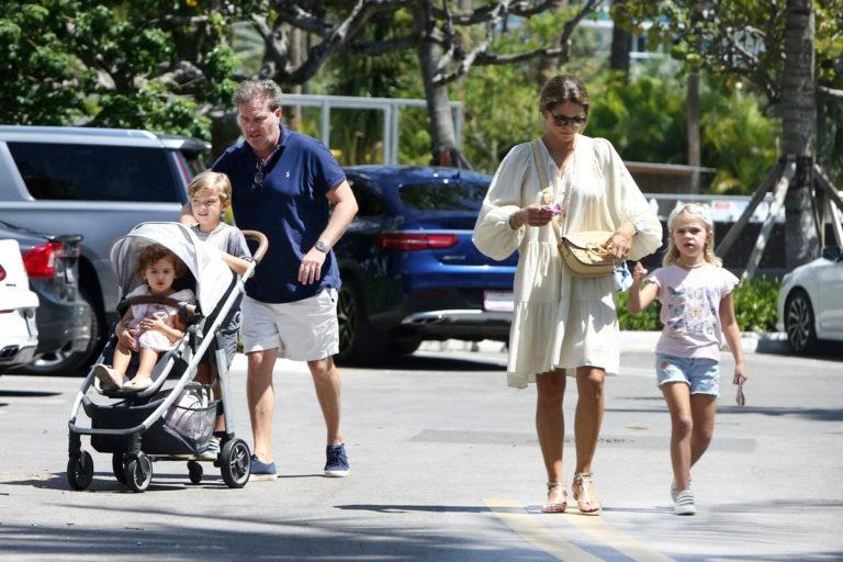 Rupotsin prinsessa Madeleine, Chris O'Neill, Leonore, prinssi Nicolas ja prinsessa Andrienne