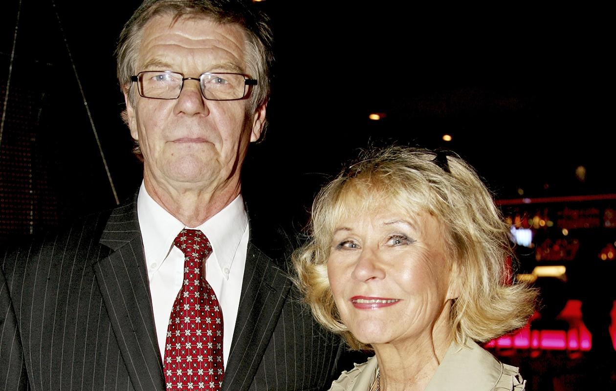 Eeva Litmanen ja aviomies Heikki Lampi ravintolan avajaisissa vuonna 2008.