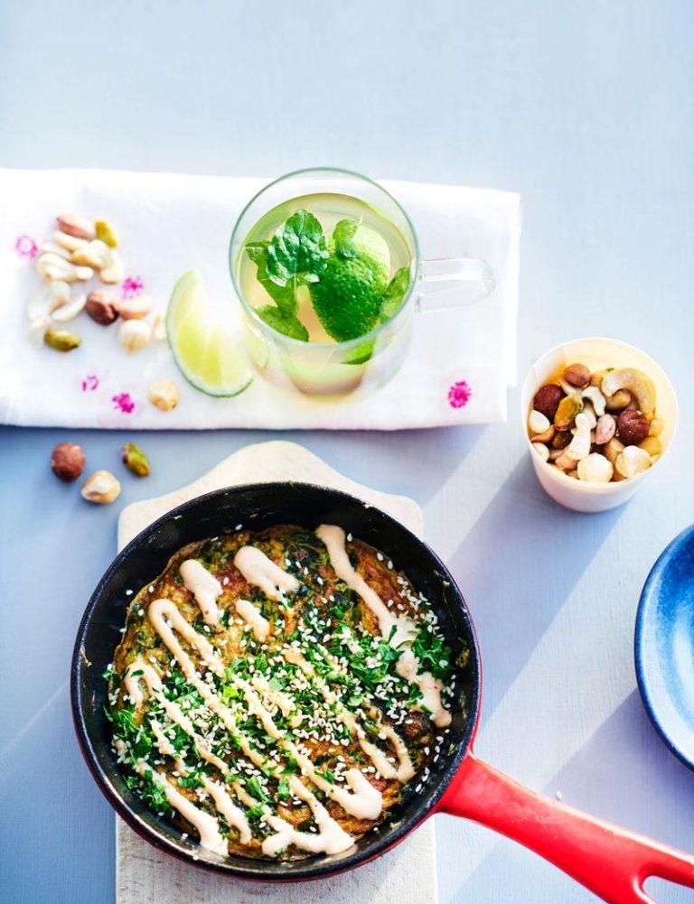 okonomiyaki japanilainen munakas