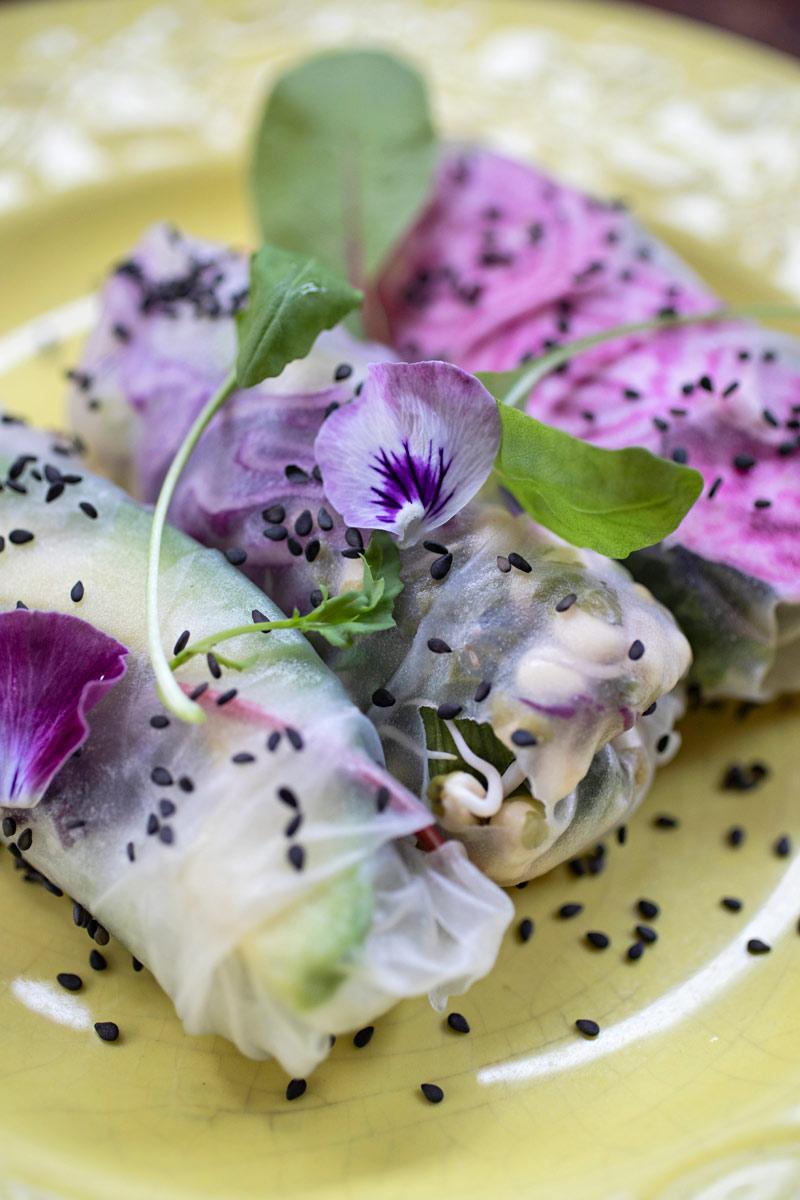 Kesärullat eli vietnamilaiset riisipaperirullat