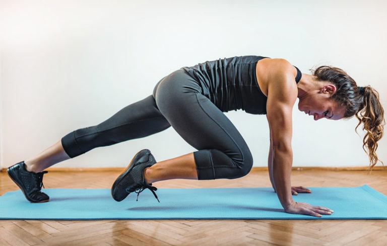 Vatsalihastreeni on helppo tehdä kotona, ja koko keho kiittää vahvoista vatsalihaksista.