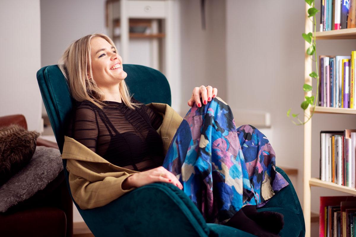 Marja Kihlström Annassa