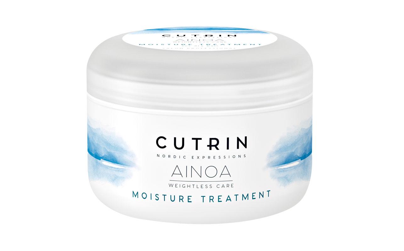 Cutrin Ainoa Moisture -tehohoito sisältää mustikansiemenöljyä ja UV-suojan, 200 ml 23 e.