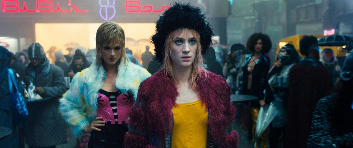 Krista Kosonen roolissa Blade Runner 2049 -elokuvassa