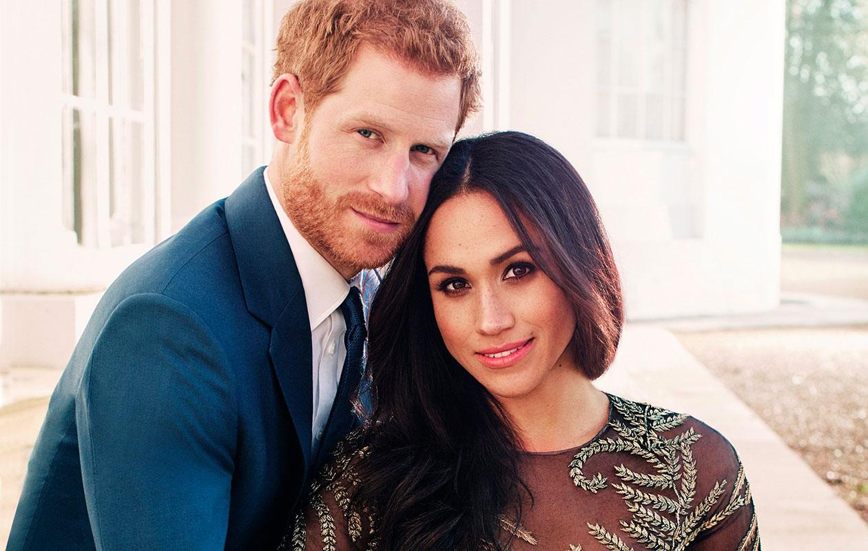 Kuvassa Meghan Markle ja prinssi Harry.