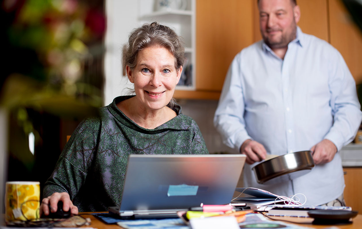 Hanna Nohynek ja hänen puolisonsa Mika P. Salminen