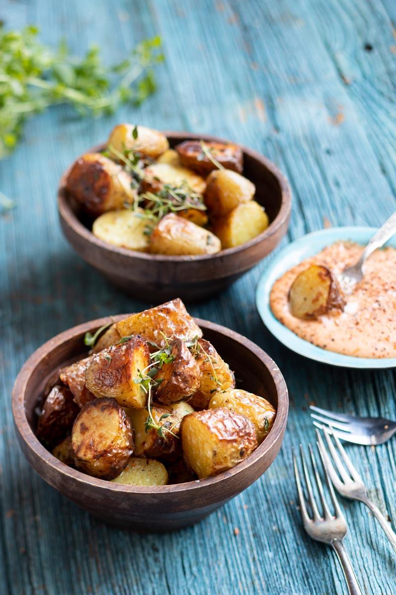 Patatas bravas - espanjalaiset tapasperunat