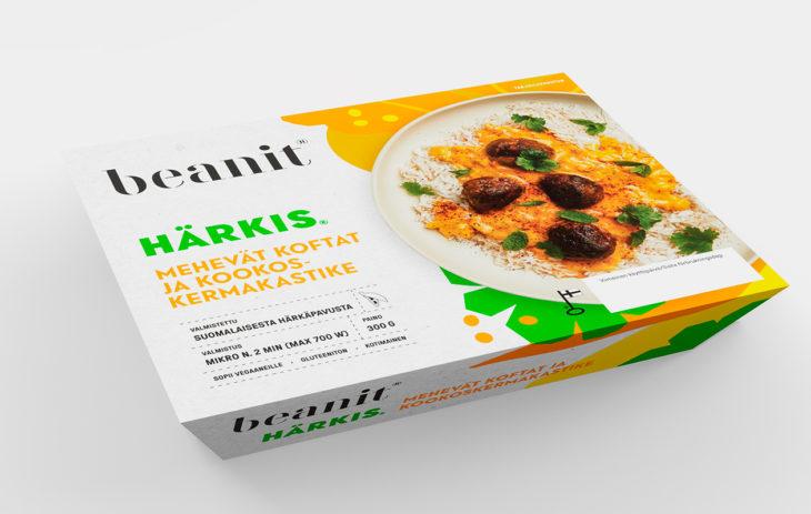 Valmisruoat: Beanit® Härkis® kofta, hintaluokka 5 euroa.