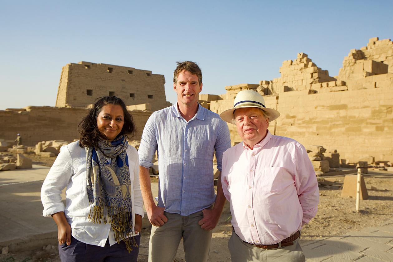 Parhaat sarjat: Pressikuva Tutankhamonin perintö -sarjasta.