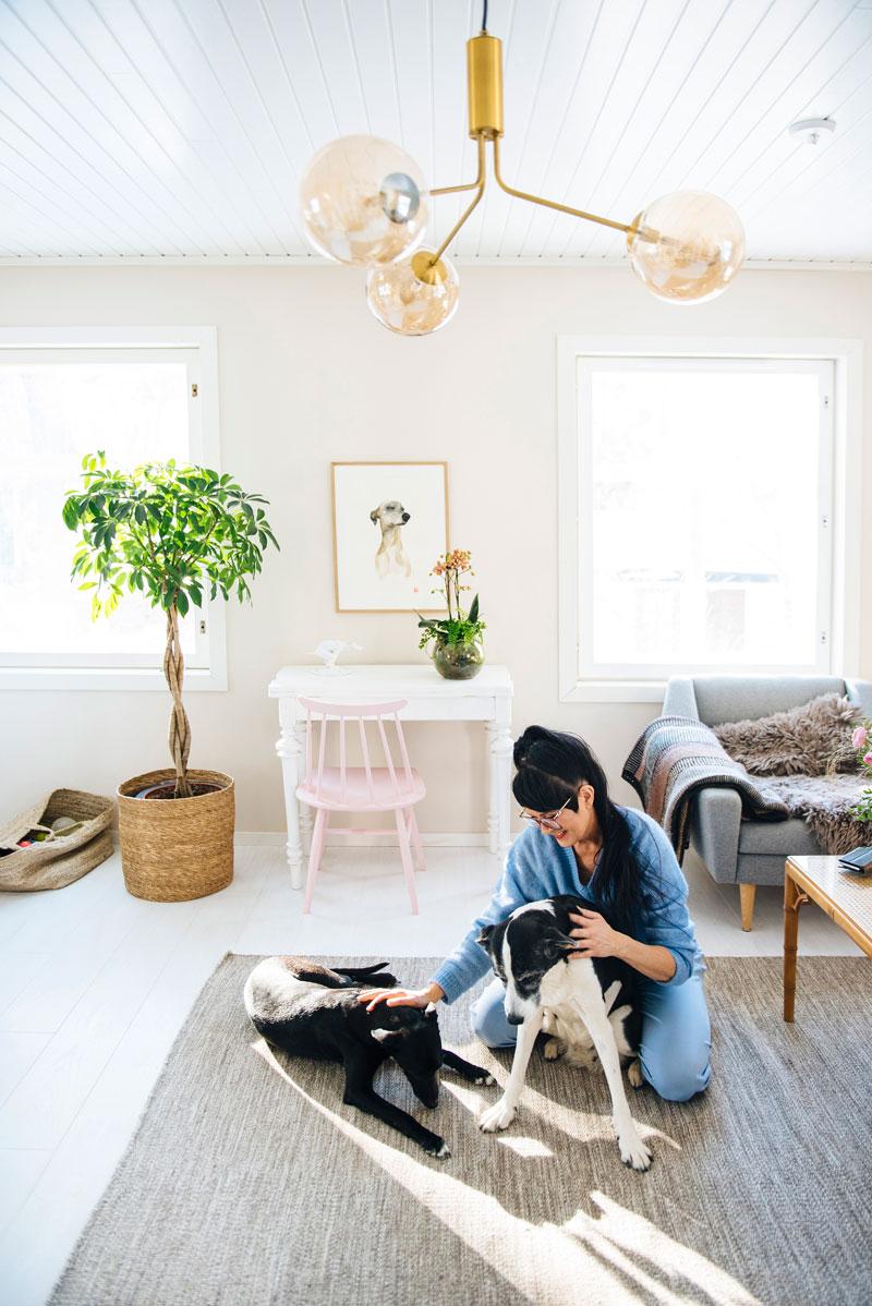 – Kannattaa miettiä, mistä kodin toiminnoista voisi luopua antamaan tilaa harrastuksille.
