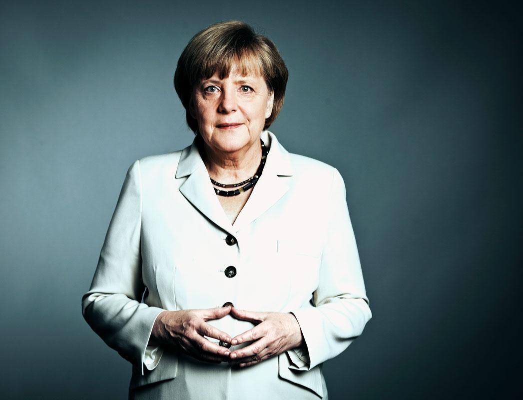 Angela Merkel oli aikoinaan Saksan nuorin ministeri. Kuva: Dominik Butzmann/laif
