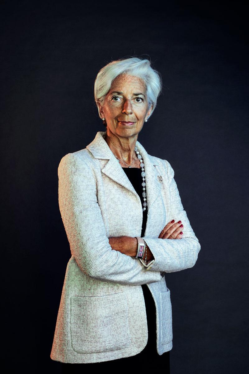 Christine Lagarde pitää huoliteltua ulkonäköä uskottavuusasiana.