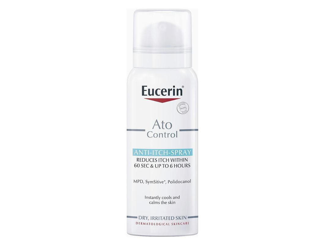 Eucerin Ato Control Anti-Itch-Spray -suihke rauhoittaa kutinaa ja sisältää mentolijohdannaista, joka antaa viilentävän tunteen iholle, 50 ml 21 e.