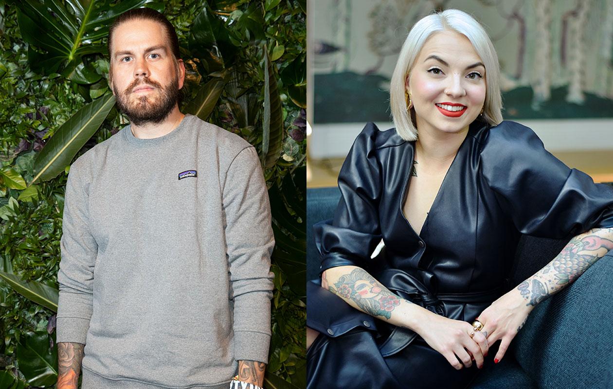 Veronica Verho ja Juhani Koskinen kertoivat somessa kihlauutisesta.