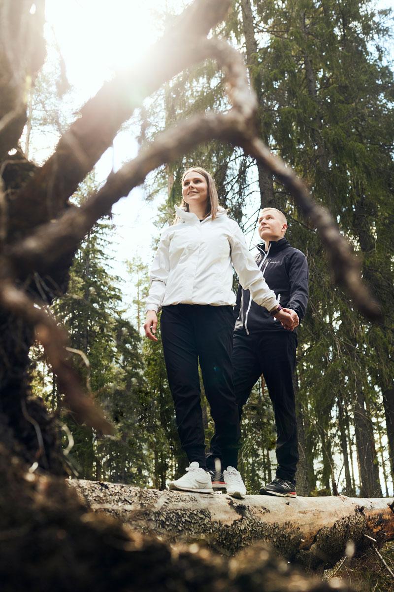 Jannika Välimaa ja puoliso Matti