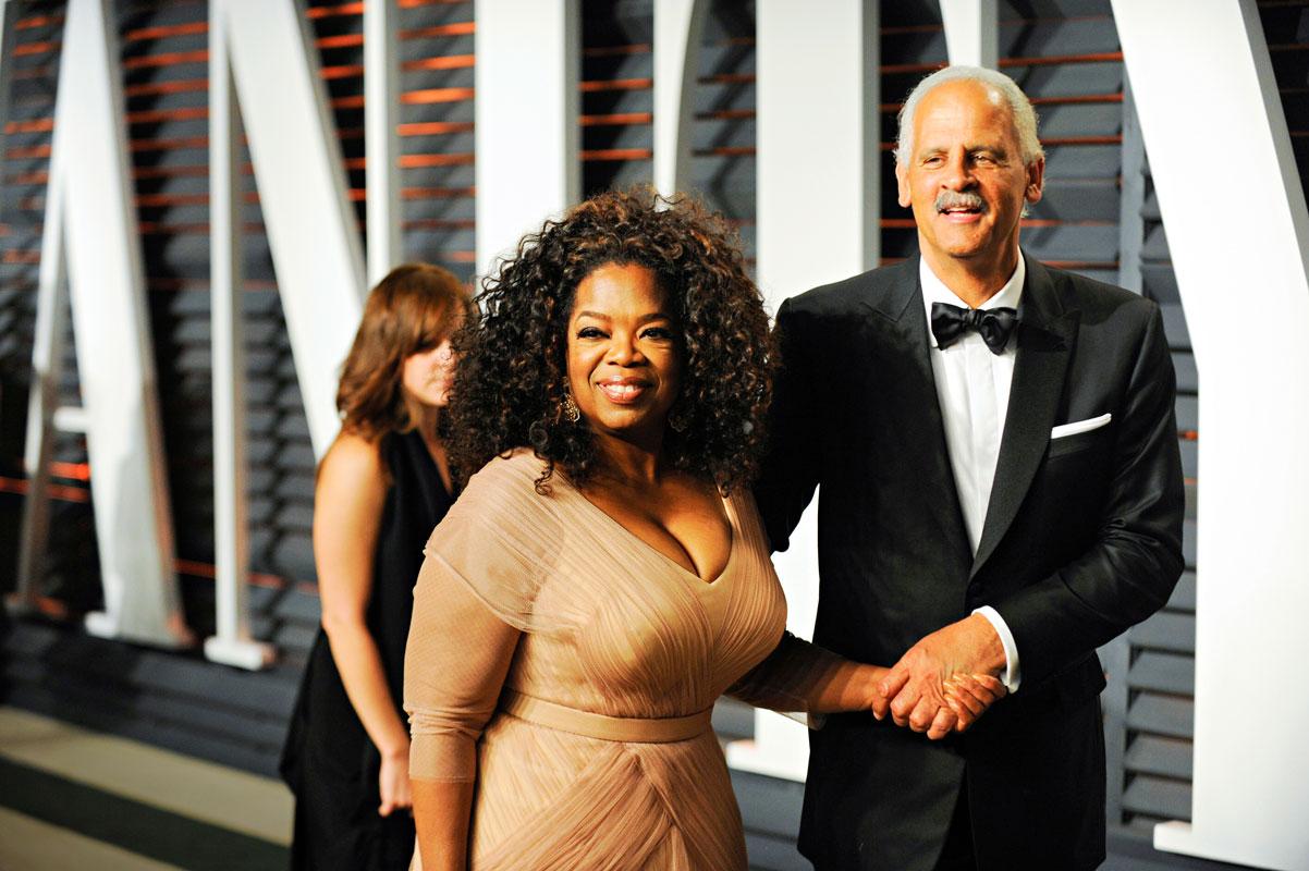 Yrittäjä Stedman Graham ja Oprah ovat olleet pari vuodesta 1986. Kuva: Avalon. All rights reserved.