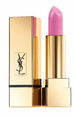 Pinkki huulipuna.