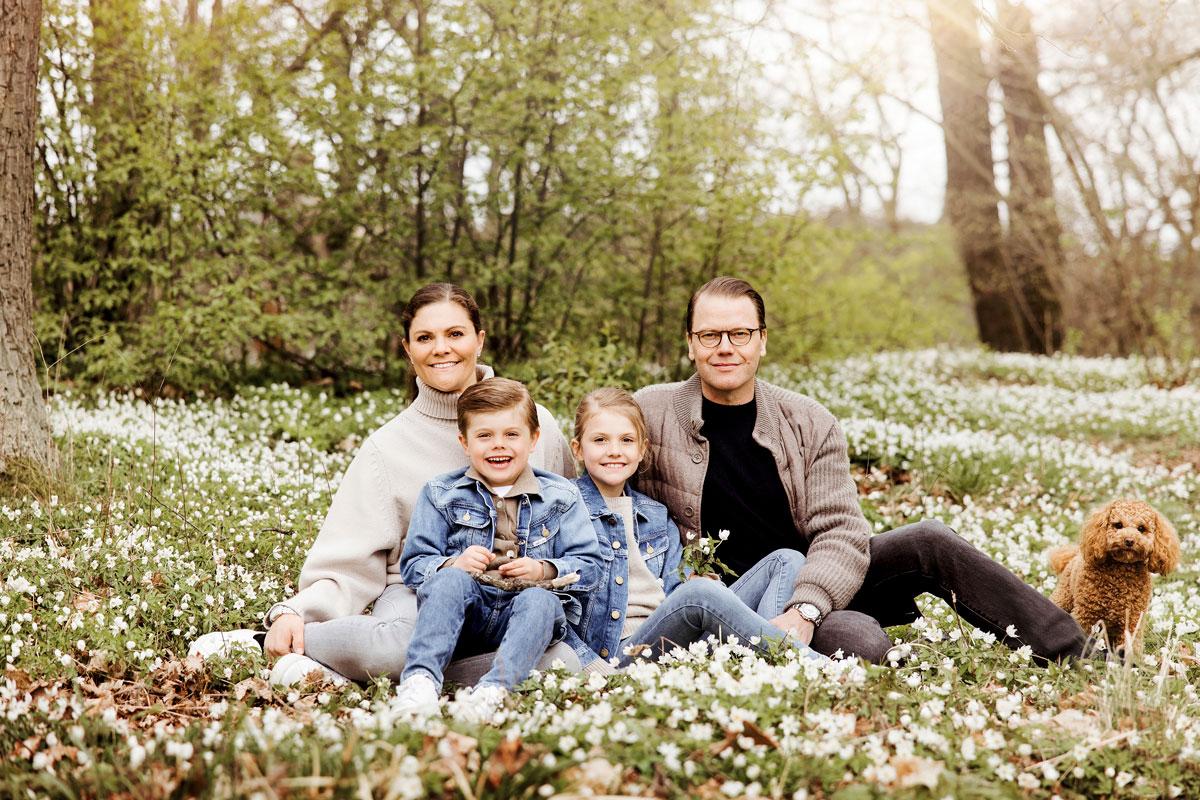 Perhe on tärkeä prinsessa Victorialle.