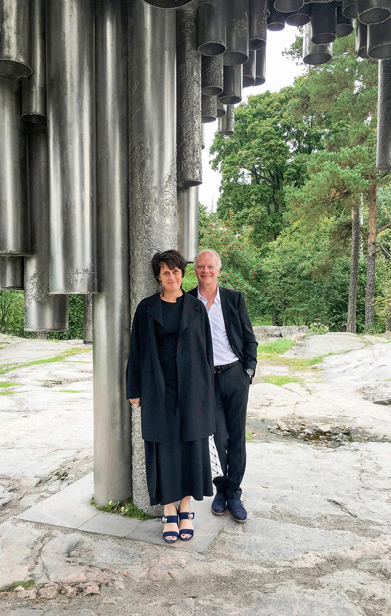 Mirkku ja hänen puolisonsa Ola Kolehmainen.