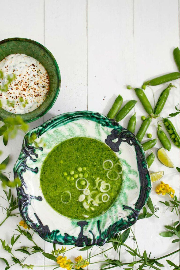 vihreä kasviskeitto