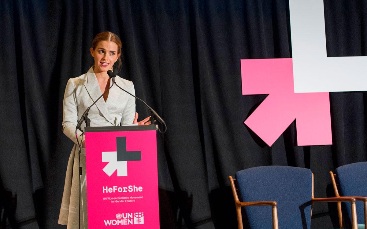 """""""Feminismi on sitä, että naisille annetaan mahdollisuus valita"""", Emma on sanonut. Kuva: UN Photo/Crystal Pictures"""