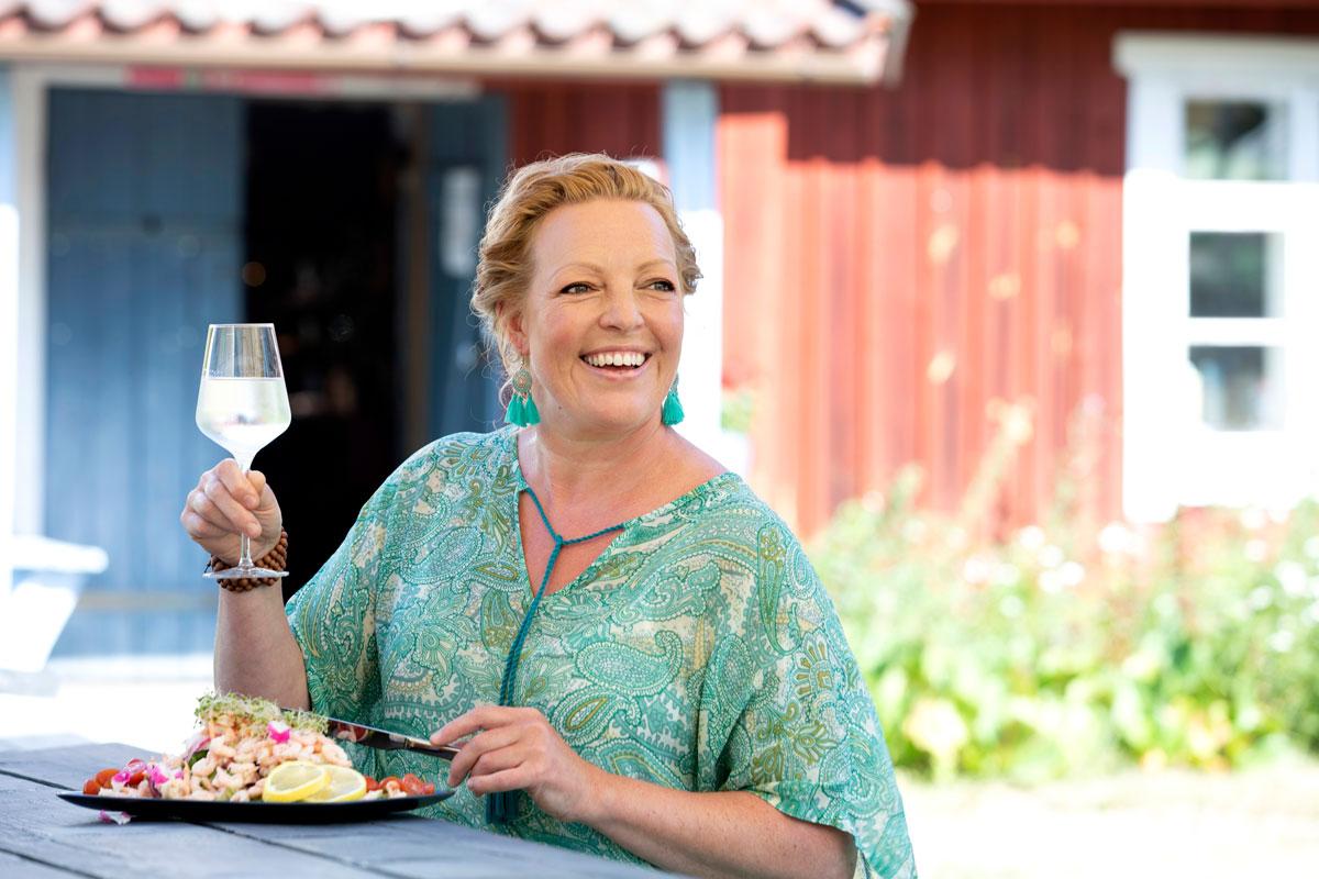 Vähemmän voi olla enemmän. – Kun aterioiden määrä väheni, syöminen muuttui suorituksesta nautinnoksi, Anette Huila kertoo.